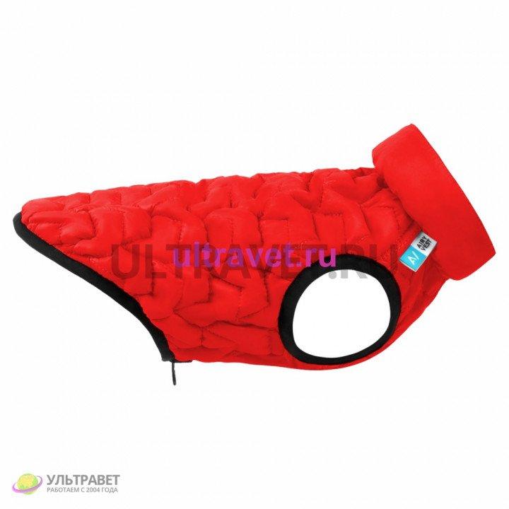 Курточка двухсторонняя AiryVest UNI, красно-черная (S 38, M 48)
