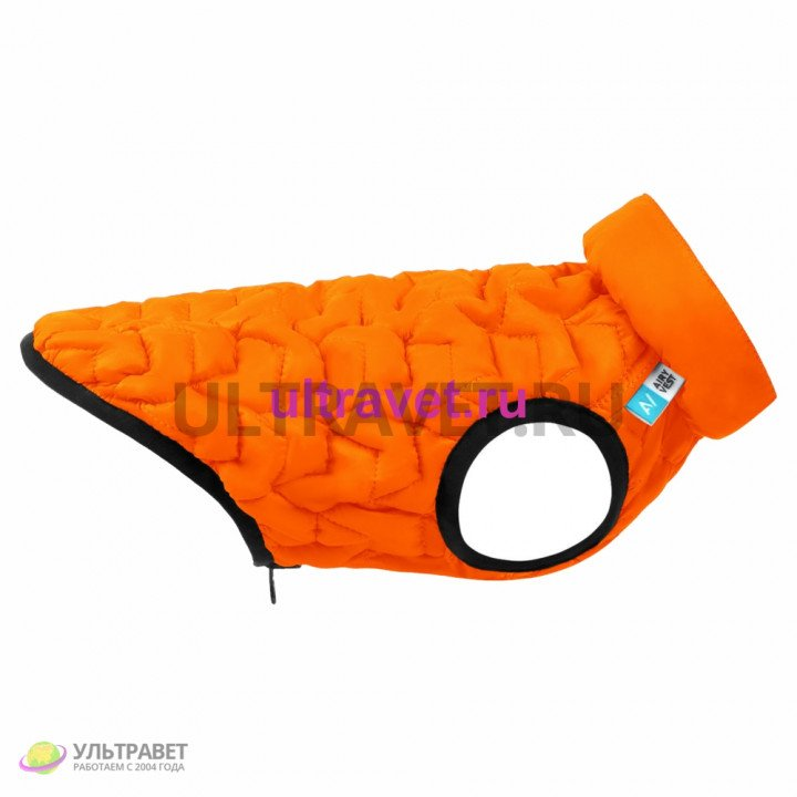 Курточка двухсторонняя AiryVest UNI, оранжево-черная (S 33, M 43, L55)