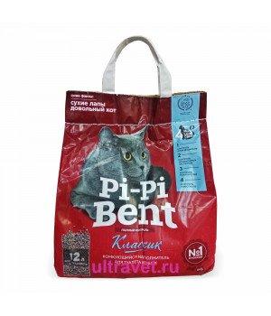 Наполнитель комкующийся Pi-Pi Bent Классик для туалета кошек