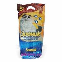 Наполнитель комкующийся Зооник для кошачьего туалета, 5 л