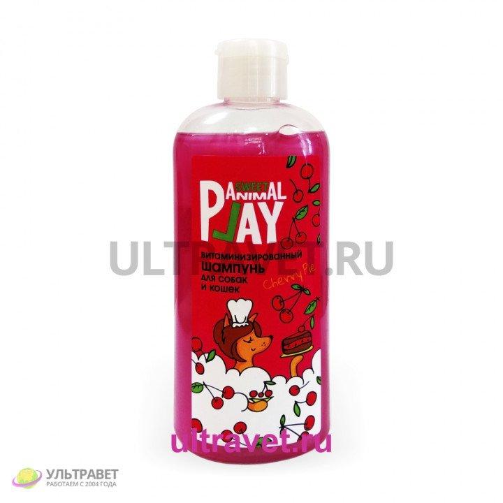 Шампунь APS витаминизированный для собак и кошек Вишнёвый пай, 300 мл