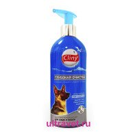 Шампунь-кондиционер Cliny Глубокая очистка для собак и кошек, 300 мл