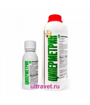 Циперметрин 25 к.э. - инсектоакарицидное средство (100 мл, 1 л)