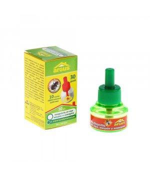Дополнительный флакон-жидкость от мух, мошек и комаров Argus, 30 мл
