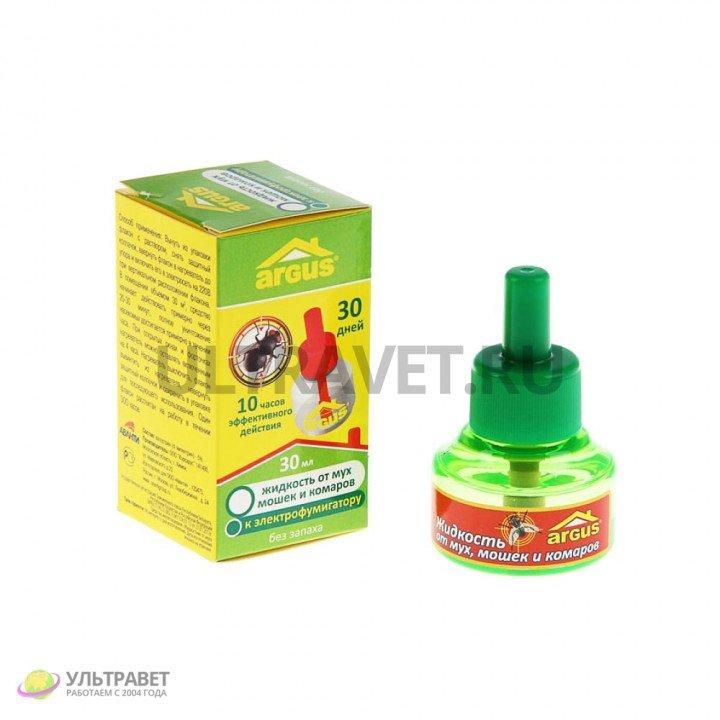 Дополнительный флакон-жидкость от мух Argus, 30 мл