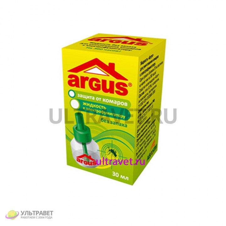 Дополнительный флакон-жидкость Argus для уничтожения комаров, 30 мл