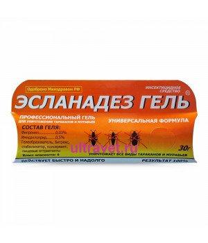 Гель Эсланадез от тараканов и муравьев, 30 гр