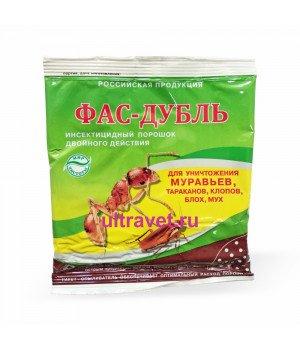 Фас-Дубль инсектицидный порошок двойного действия