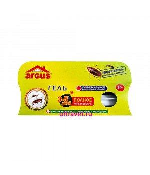 Гель от тараканов и муравьев ARGUS, 30 гр