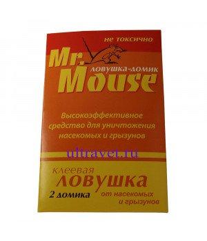 Клеевая ловушка-домик Mr.Mouse от грызунов