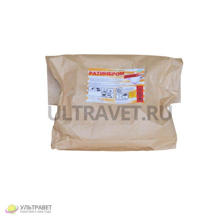 Ратинбром (Бромадиалон 0,25%), мешок 5 кг, Россия