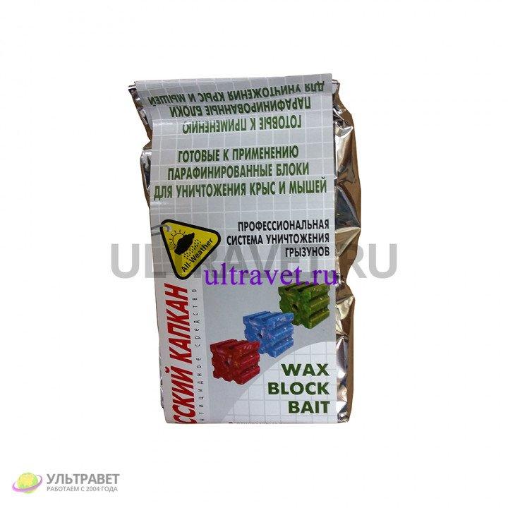 Русский-КАПКАН парафинированные блоки от крыс и мышей