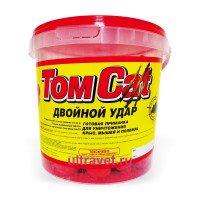 Том кот (TomCat) твердые брикеты с начинкой - приманка от грызунов