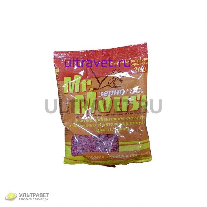 Зерно Mr. Mouse от крыс и мышей, 200 гр